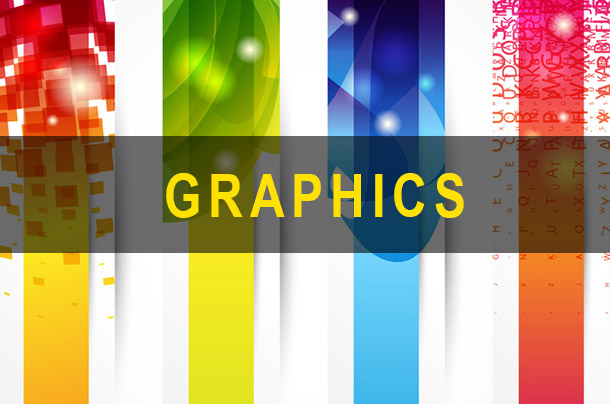 Abstract image to represent graphic arts.